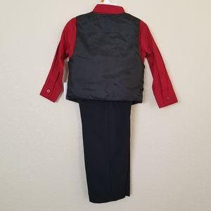 Holiday Editions Matching Sets - Holiday Editions 4-Piece Dress Vest Set 2T NEW